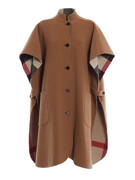 Burberry - Cappotto - Donna Marrone Taglia Produttore  Taglia Unica   Amazon.it  Abbigliamento 12749227fa2c