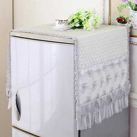 Toalla de la tapa del refrigerador cobertura universal cubierta a prueba de polvo cubierta del polvo