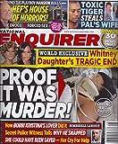 Whitney Houston & Bobbi Kristina Brown l Hugh Hefner l Tiger Woods - July 13, 2015 National Enquirer Magazine