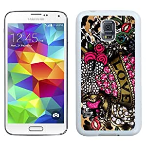 Fashionable Betsey Johnson 16 Galaxy S5 Generation Phone Case in White