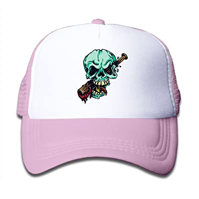 YUI Cap Skeleton Baseball Boy Snap Back Mesh Caps Adjustable Trucker Caps