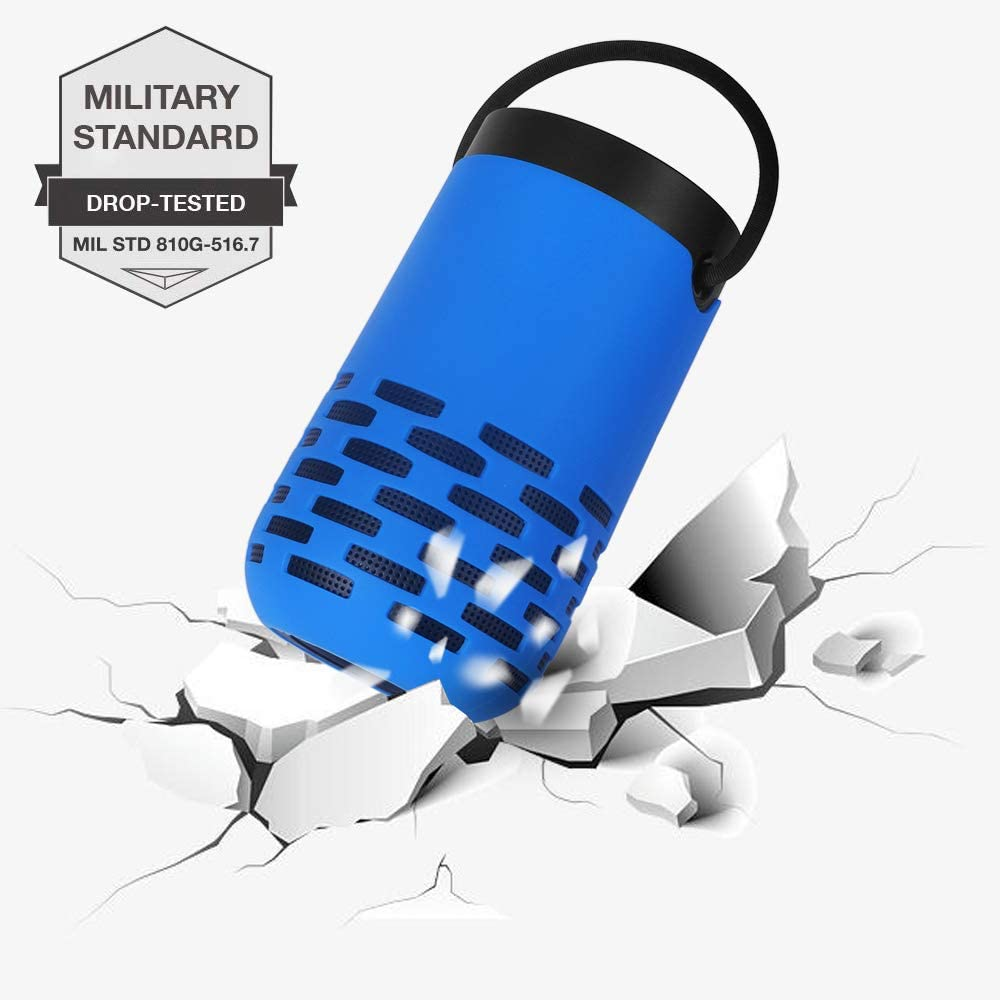 Blue MASiKEN Silicone Cover for Bose Portable Home Speaker Premium Protector Skin Pouch Sleeve Carrying Case