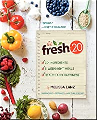 The Fresh 20, the popular budget-friendly meal-planning service founded by working mother Melissa Lanz, is now a cookbook, offering families an all-natural and easy approach to mealtimes.       Using just 20 organic, non-processed ingr...