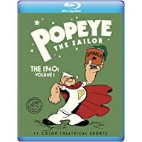 Popeye The Sailor: The 1940s Volume 1 [Blu-ray]
