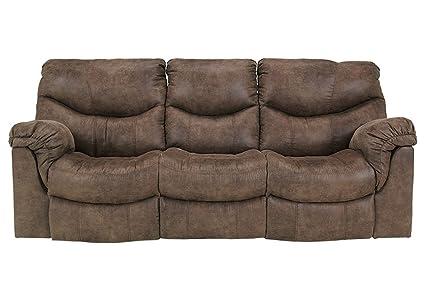 amazon com signature design alzena 3 pc reclining sofa set rh amazon com contemporary oversized reclining sofa