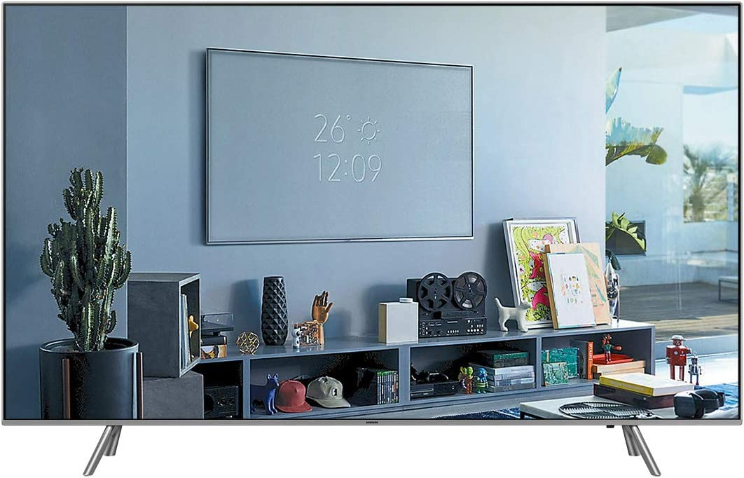 2018 Eclipse Silver Canada Version Samsung QN49Q6F Flat 49 QLED 4K Ultra HD Smart TV