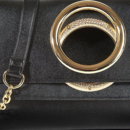 La Redoute Collections Frau Handtasche, Vintagestyle Gre Taille Unique Schwarz