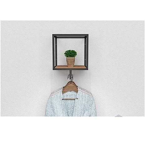 Amazon.com: XQY - Perchero de pared de metal, para colgar ...