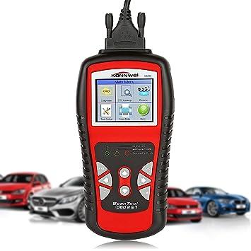 KONNWEI kw830 coche profesional OBD2 OBDII Diagnóstico Herramienta De Auto Tester Lector Código Multiplexer para escáner de diagnóstico OBD2 Vehículos ...