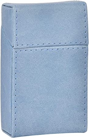 Weiyiroty Cigarrillo portátil Estuche Elegante Estilo 20pcs Caja(Light Blue): Amazon.es: Hogar