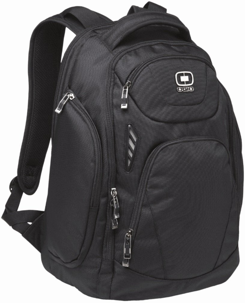 OGIO 411065 Mercury 17'' Computer Laptop Backpack, Black