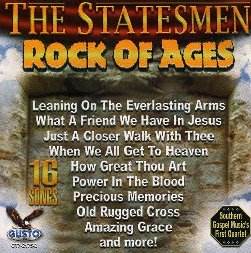 CD : The Statesmen - Rock Of Ages (CD)