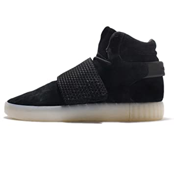 best sneakers ac00a 26f3e adidas Tubular Invader Strap Homme Baskets Lacets d Contract  - Noir -  42.6666666666667