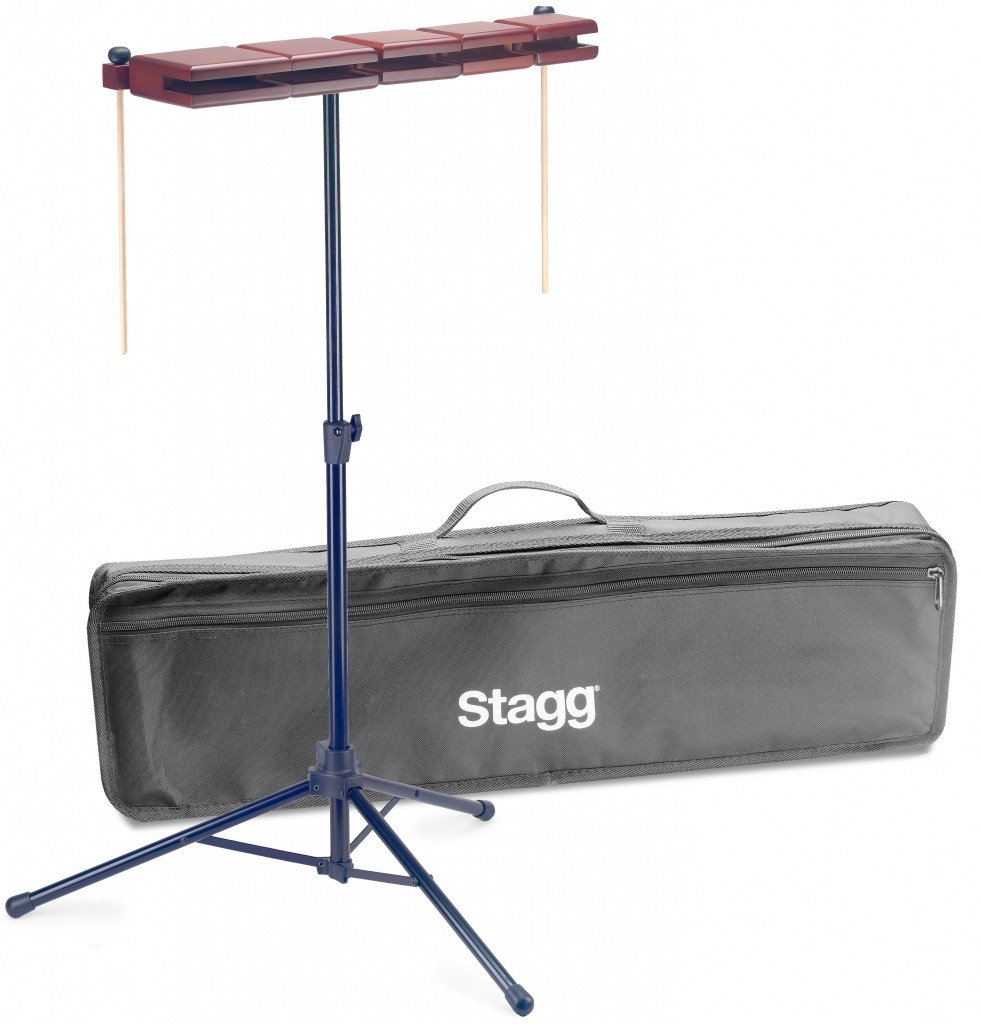 Stagg Percussion Blocks (WB-SET 5B) by Stagg