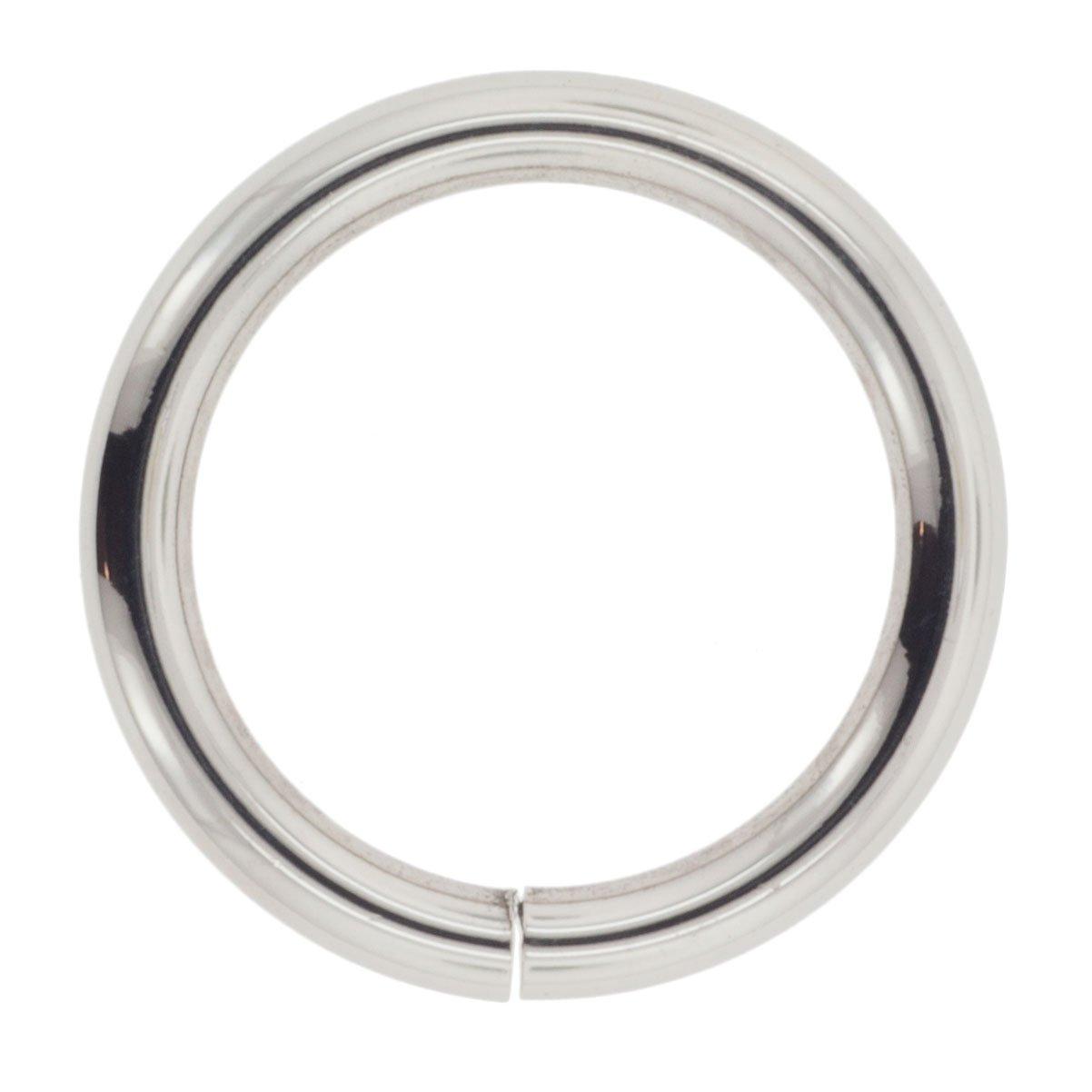 Stainless Steel Seam Ring 12g 7//8