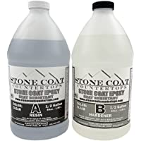 Stone Coat Countertops 1 Gallon Epoxy Kit – DIY Epoxy Resin Kit for Coating Kitchens, Bathrooms, Counters, Tables, Wood…