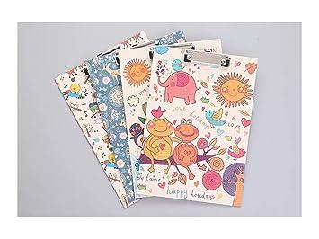 Almohadilla de papel Portapapeles animal lindo colorido A4 ...