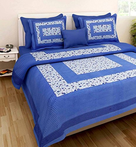 Making A Toga Costume (Pure Cotton Luxury King Size Mandala Bed Sheet Set with 2 Pillow Cases,Best Quality For Home, Hotel, Wrinkle, Fade, Stain Resistant, Hypoallergenic (White Navy Blue Colors Floral))