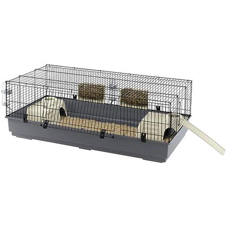 Feplast 57051414 Jaula para Conejos Rabbit 140, Sistema de Cierre ...