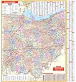 Ohio (State Wall Maps)