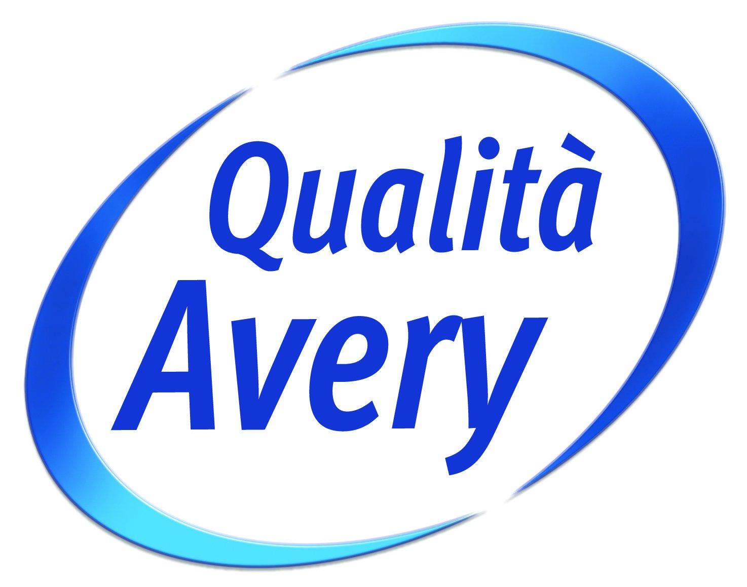 40 Fogli Bianco 14 Pezzi per Foglio Avery L7163-40 Quickpeel Etichette 99.1 x 38.1