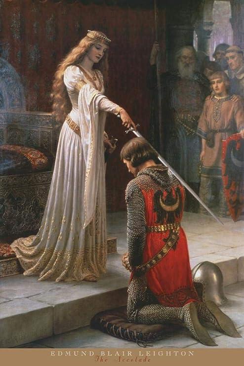 Lamia J.W Waterhouse Fantasy Knight Medieval Romance Love Print Poster 13x19