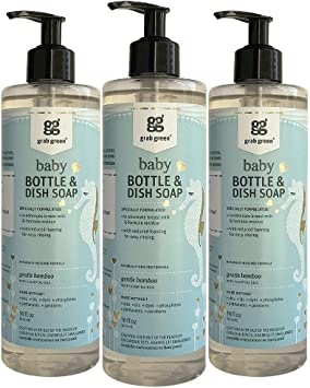 Grab Green Dish Liquid For Baby Bottles