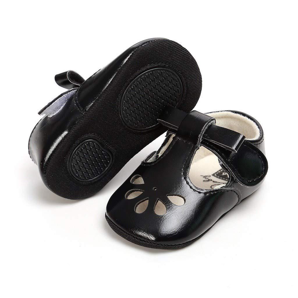 Conquro Reborn Bebe Zapatos de Primeros Pasos Primavera Verano Blanda Antideslizante Zapatos Reci/én Nacido con Suela Zapatos de beb/é Huecos Parte Inferior Suave Zapatos para ni/ños peque/ños