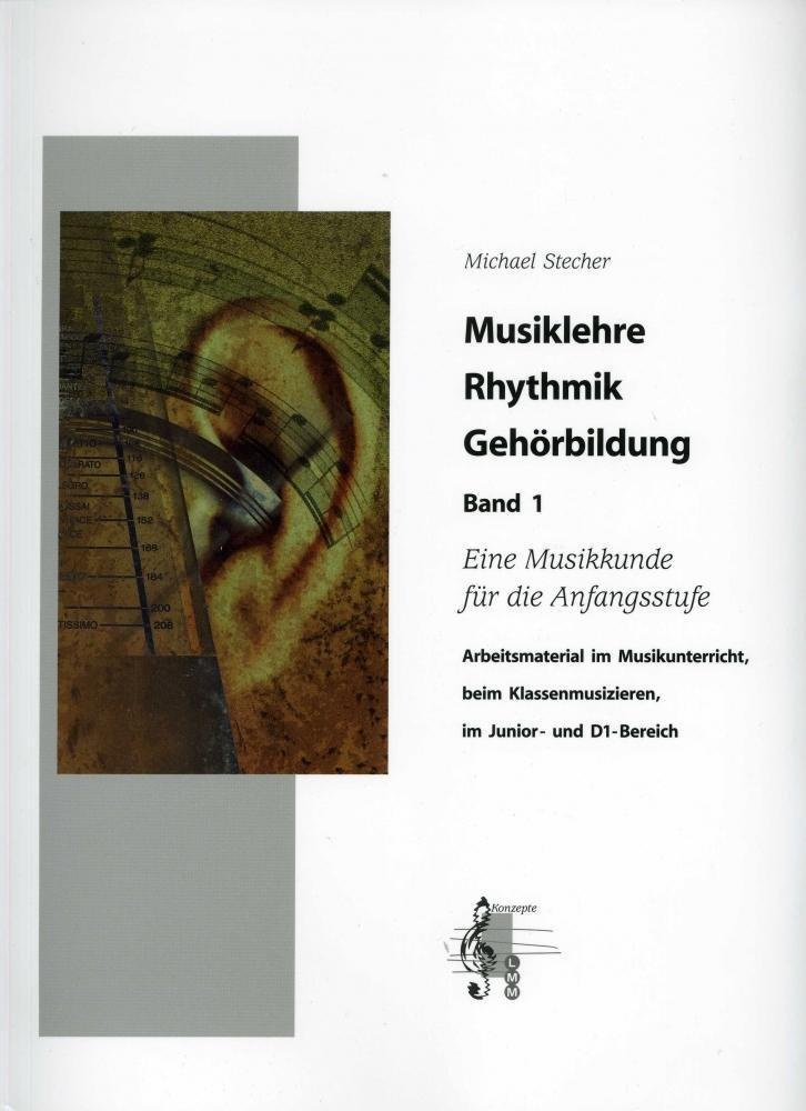Musiklehre Rhythmik Gehörbildung, m. 4 Audio-CDs
