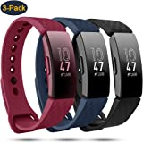 findway Compatible with Fitbit Inspire 2/Inspire HR Bands/Fitbit Inspire Band, Adjustable Soft Silicone Inspire Straps…