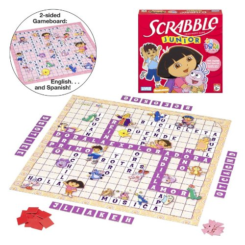 Dora Explorer Board The Game (Dora the Explorer Scrabble Junior (2007))