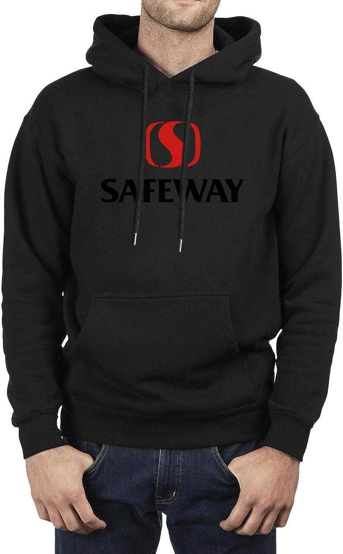 Pullover Men Pullover Hoodie Sweater Kangaroo Pocket Safeway-Inc-Logo