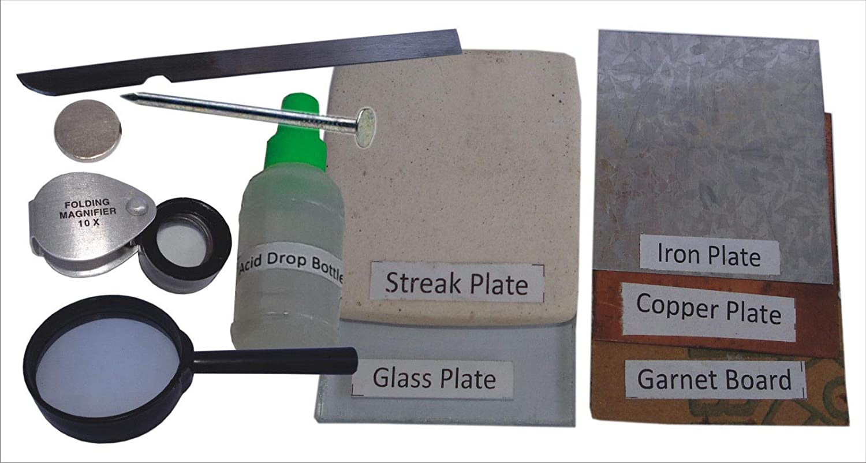 Rocks Science Kit de actividades con herramientas de prueba ...