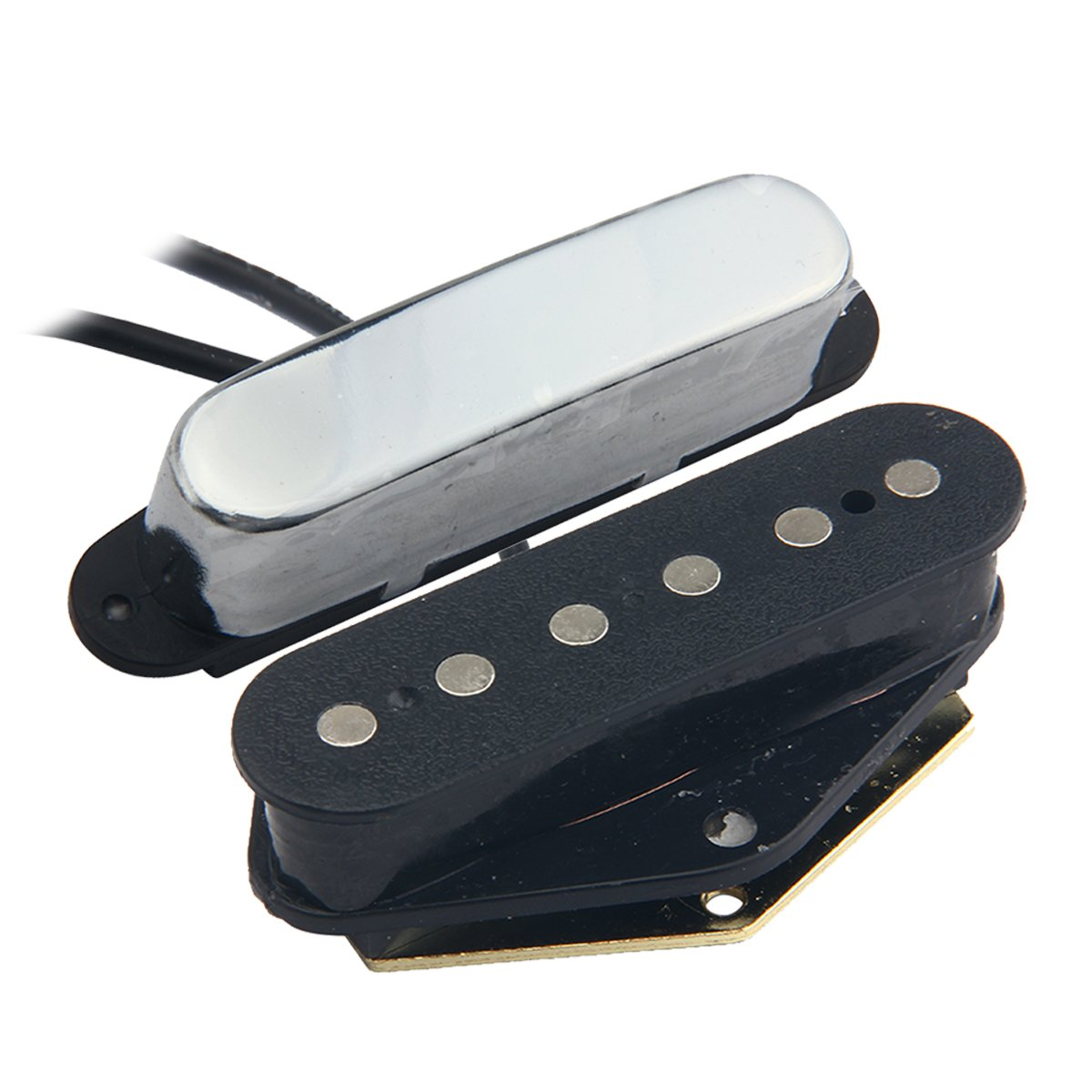 Kmise MI0164 Electric Guitar Pickup Bridge & Neck Pickup for Tele Style