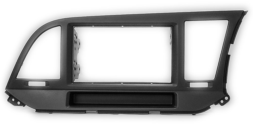 Double Din In Dash Car Stereo Installation Kit Car Radio Stereo CD Player Dash Install Kit Compatible HYUNDAI Elantra (AD) 2016+ (Right wheel/with pocket) with 17398mm/178100mm/178102mm