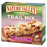Nature Valley Fruit & Nut Trail Mix Chewy Granola Bars, 5-Count, 175 Gram
