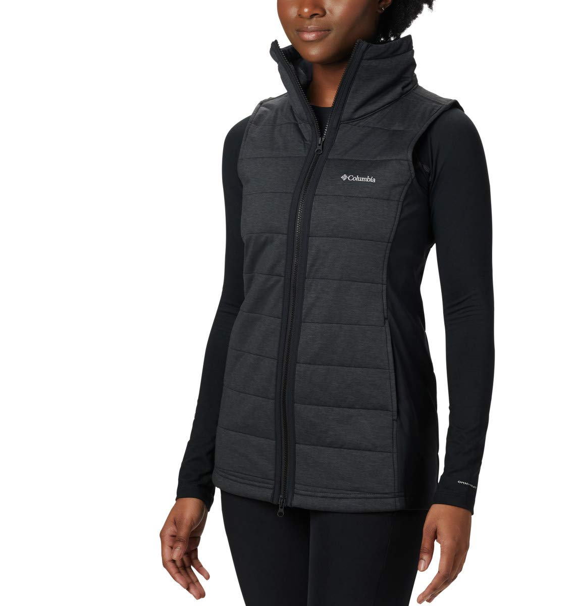 Columbia Women's Place Vest, Black, Small by Columbia