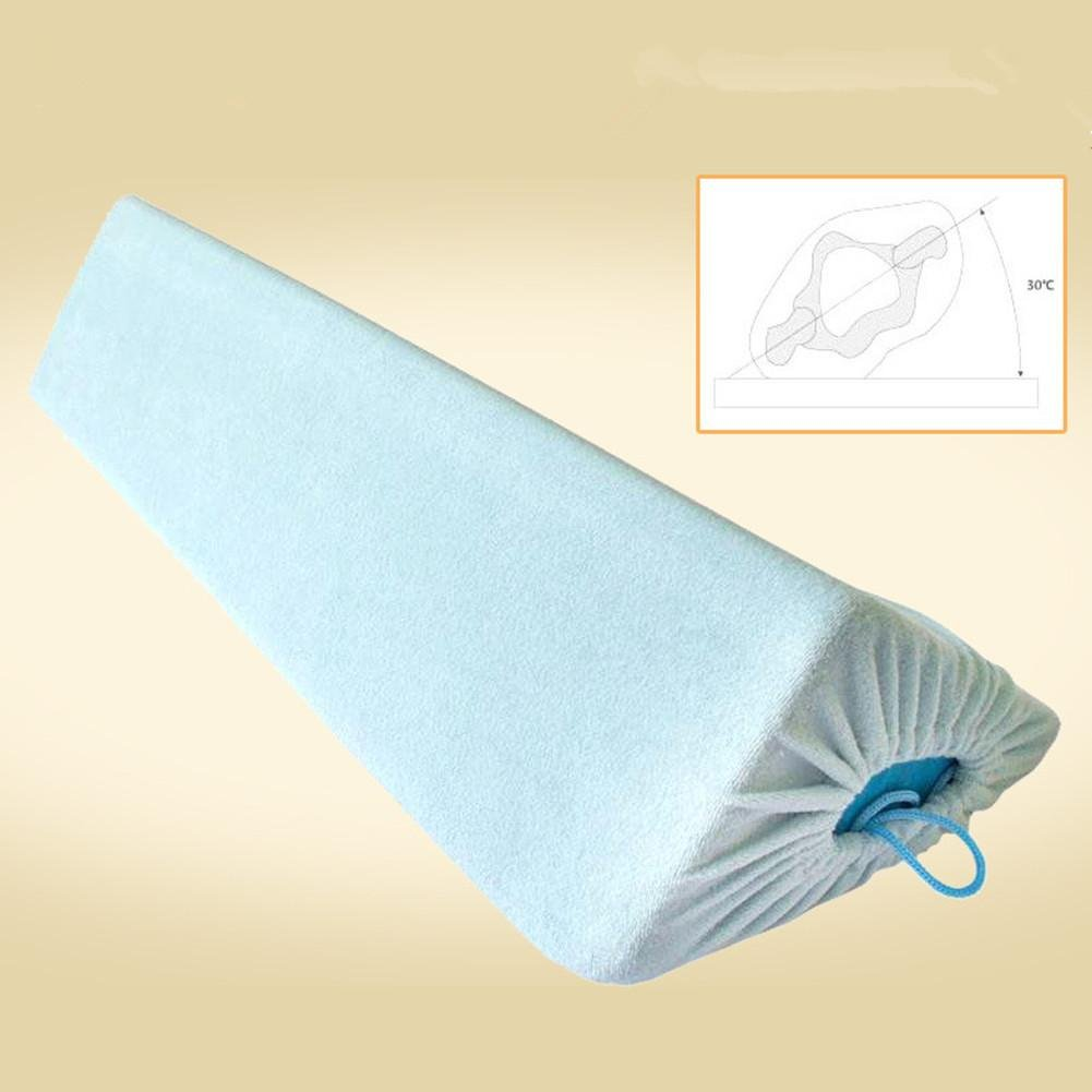 WE&ZHE Medical Care Anti-Bed Sores Pad Side Pad Back Pad Cushions Pillow For Elderly Paralyzed Patient , blue