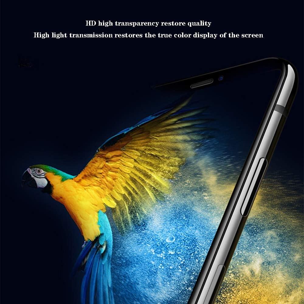 Lee Lam displaybescherming van onbreekbaar, gehard glas, displaybeschermfolie voor iPhone 7 Plus, 6S, 8, X, 5 stuks Applexr
