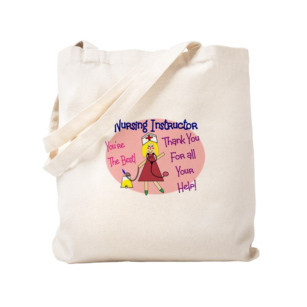 CafePress – 授乳インストラクター – ナチュラルキャンバストートバッグ、布ショッピングバッグ S ベージュ 0264078818DECC2 B0773V9V77 S