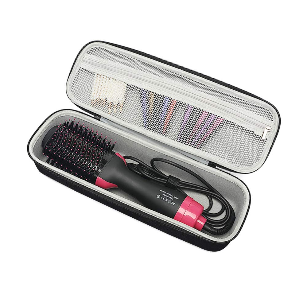Hard Travel Case for Revlon One-Step Hair Dryer & Volumizer& Styler Carrying Case Black