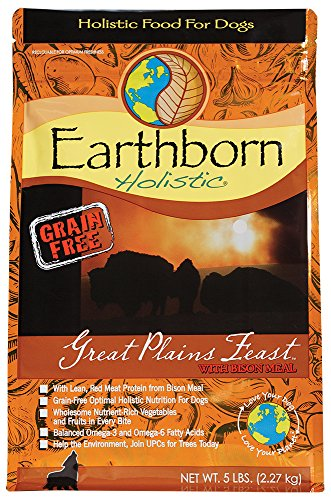 Earthborn Holistic Grain Free Great Plains Feast Dry Food for Dogs 5 lbs
