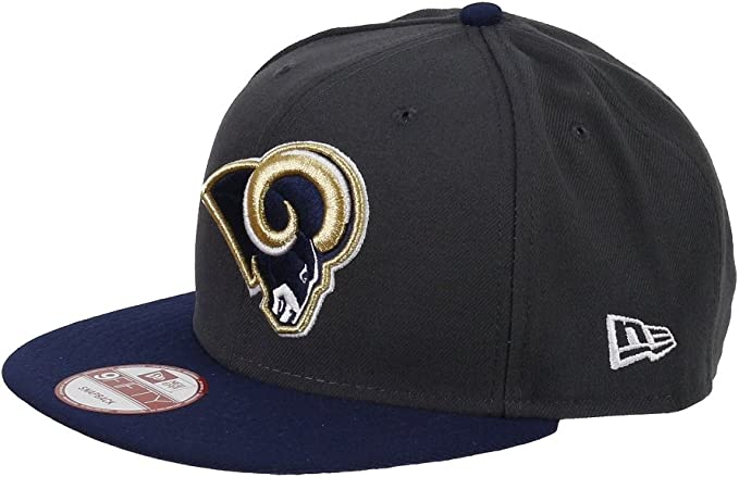 St.Louise Rams – New Era 9 FIFTY NFL – Gorra snapback Graphite ...