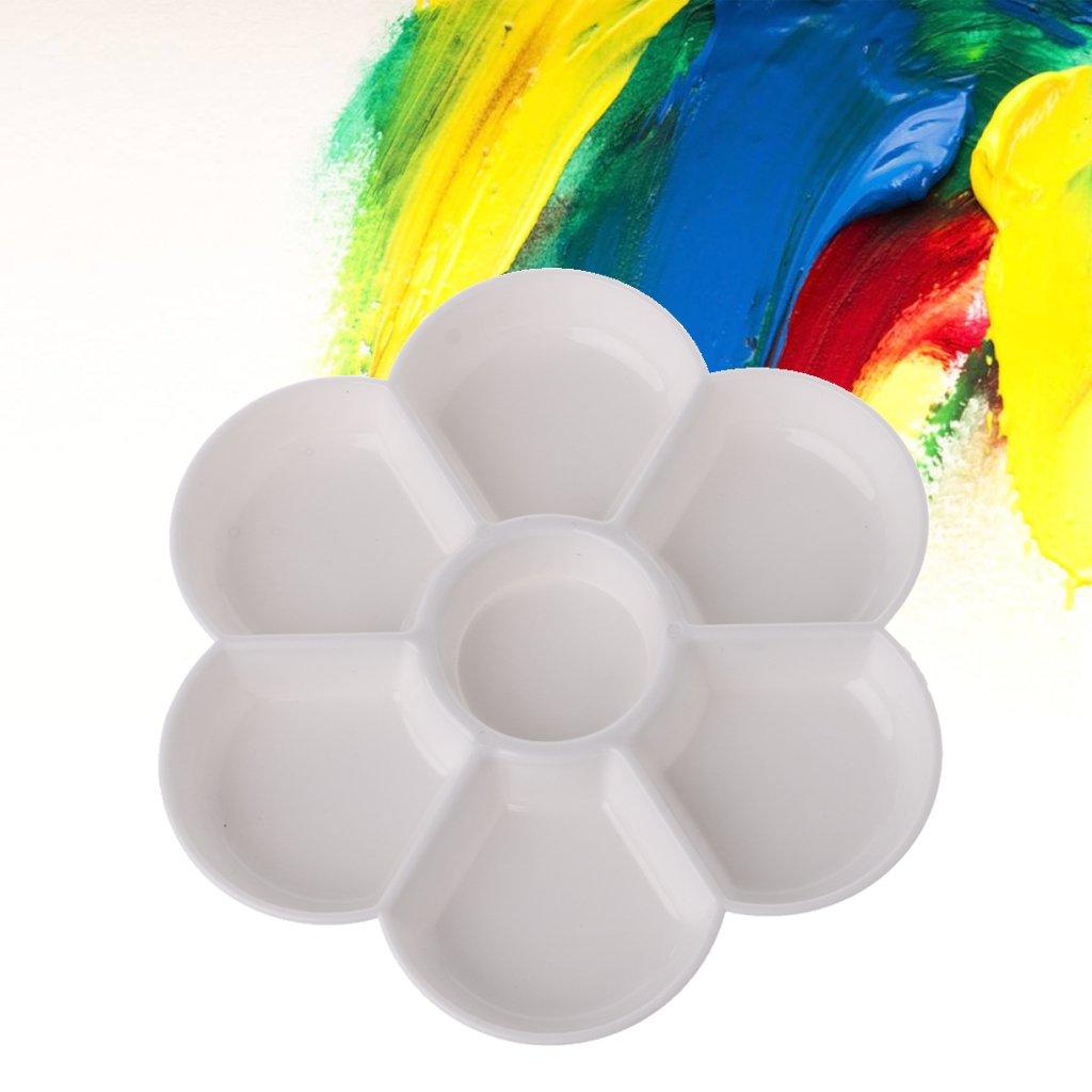 KIDS PAINTING PALETTE Art /& Craft Paint Pallette Easy Clean Acrylic Watercolour