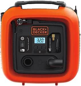 Black + Decker BDINF12C - Inflador multiusos (12 V)