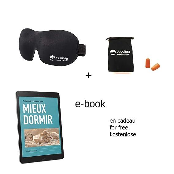 Máscara del sueño , Antifaz de noche , Máscara para dormir 100% opacidad - para la casa o para viajar: Amazon.es: Salud y cuidado personal