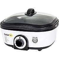 Cecotec Olla de Cocción Lenta Cooker 8 en 1. Calentar, Hervir, Cocción Lenta, Cocción al Vapor, Saltear, Plancha, Rustir…