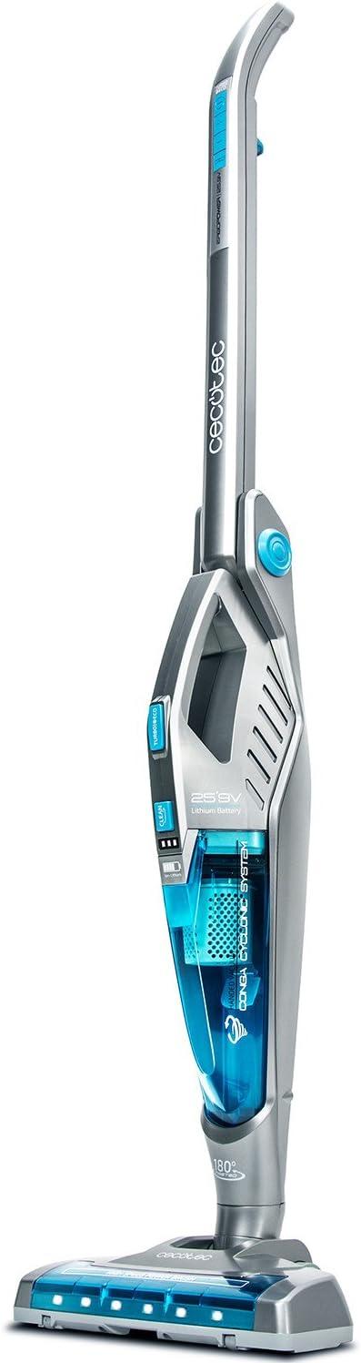 Cecotec Aspirador Escoba 3 en 1 Conga Ergo Power 25,9V. Potente. Aspirador 3 en 1: Escoba, Mano y Vertical. Brazo articulado. Sin Cable y Sin Bolsas: Amazon.es: Hogar