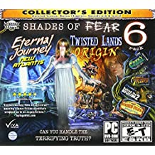 SHADES OF FEAR Hidden Object 6 PACK Collector's Edition
