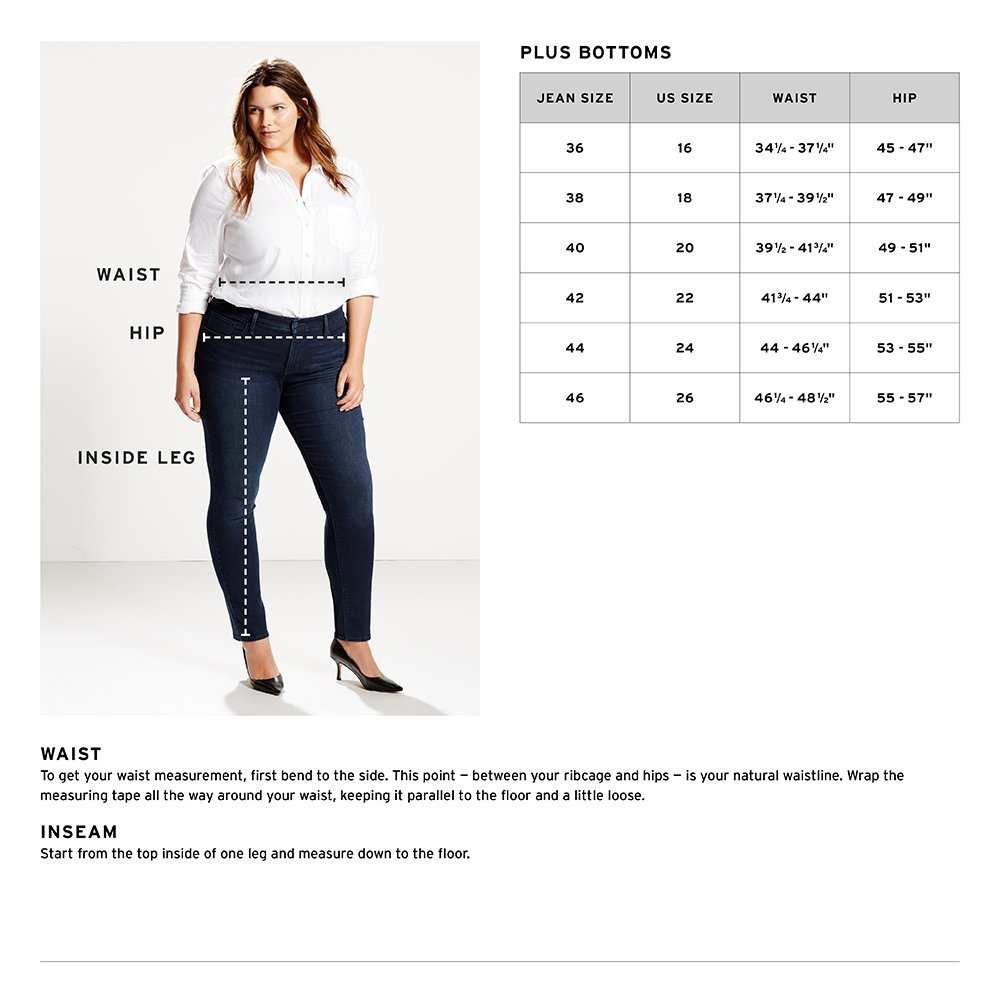 Levi's Women's Plus Size 414 Classic Straight Jean's, Oak Blues, 38 (US 18) R by Levi's (Image #4)